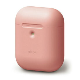 ELAGO エラゴ elago AIRPODS CASE for AirPods 2nd Generation Wireless Charging Case for AirPods 2nd Wireless (Lovely Pink) EL_A2WCSSCAW_LP