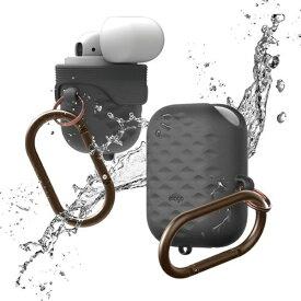 ELAGO エラゴ elago AirPods WaterProof Hang Case Active for AirPods (Dark Gray) EL_APDCSSCWA_DG