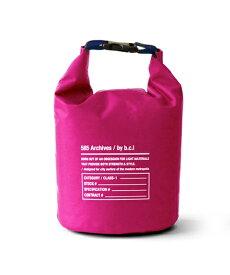 bcl ビーシーエル bclオリジナル 585ウォータープルーフバッグ 5L(ピンク×ネイビー/17×17×28cm) 127994 [約5L]