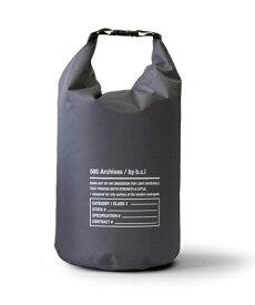 bcl ビーシーエル bclオリジナル 585ウォータープルーフバッグ 10L(チャコールグレー×ブラック/23×23×36cm) 127996 [約10L]