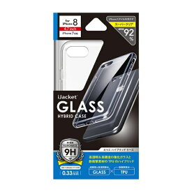 PGA iPhone 8/7用 ガラスハイブリットケース PG-17MGT01