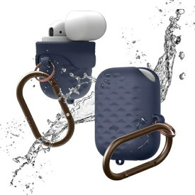 ELAGO エラゴ elago AirPods WaterProof Hang Case Active for AirPods (Jean Indigo) EL_APDCSSCWA_JI