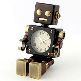 ミニチュアクロック MiniatureClock ミニチュアクロック ブラウン AC570BR