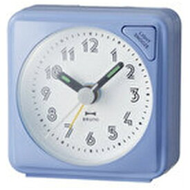 イデアインターナショナル IDEA INTERNATIONAL 目覚まし時計 「ミニアラームクロック」 BRUNO(ブルーノ) ブルー BCA003-BL [アナログ]