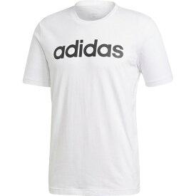 アディダス adidas トレーニングウェア CORE リニアTシャツ メンズ Lサイズ (ホワイト/ブラック) FSG79