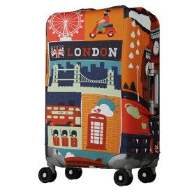 レジェンドウォーカー LEGEND WALKER スーツケースカバー 5102-55-WHCB LONDON