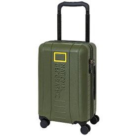 NATIONAL GEOGRAPHIC ナショナルジオグラフィック スーツケース ワイドハンドルジッパーキャリー 37L ADVENTURE SERIES カーキ NAG-0800-49 [TSAロック搭載]