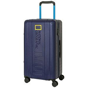 NATIONAL GEOGRAPHIC ナショナルジオグラフィック スーツケース ワイドハンドルジッパーキャリー 89L ADVENTURE SERIES ネイビー NAG-0800-72 [TSAロック搭載]