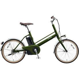 パナソニック Panasonic 20型 電動アシスト自転車 Jコンセプト(松葉・エバーグリーン/シングルシフト) BE-JELJ012G【2019年モデル】【組立商品につき返品不可】 【代金引換配送不可】