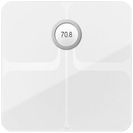 Fitbit フィットビット FB202WT-JP 体重計 スマート体重計 Aria2 WiFi/Bluetooth対応 ホワイト [デジタル][体重計 体脂肪計 スマホ連動 FB202WTJP]