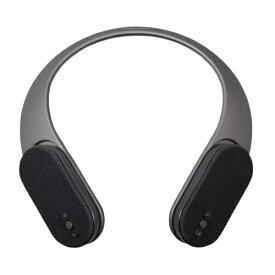 OWLTECH オウルテック 2WAY Bluetoothネックスピーカー パッシブラジエーター搭載 OWL-BTSP08-BK ブラック [Bluetooth対応][首掛け 肩掛け スピーカー OWLBTSP08BK]