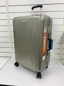 ORBITER(エース) スーツケース 73L ワールドトラベラー(World Traveler) コヴァーラム(KOVALAM) ゴールド 06582-13 [TSAロック搭載]