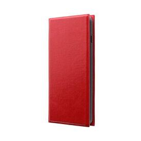 MSソリューションズ Galaxy S10 薄型手帳型ケース 「PRIME」 レッド LP-19SG1LPRD レッド