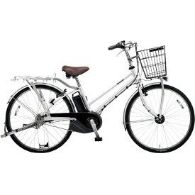 パナソニック Panasonic 26型 電動アシスト自転車 業務用モデル パートナー・DX(モダンシルバー/強化内装3段変速) BE-ELGD632S【2019年モデル】 【代金引換配送不可】