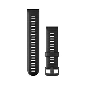 GARMIN ガーミン ベルト交換キット FA945用 Black Slate シリコン 010-11251-2E