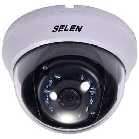 セレン SELEN 【ビックカメラグループオリジナル】フルハイビジョン対応 赤外線投光器内蔵HD-TVIドームカメラ SHT-N381