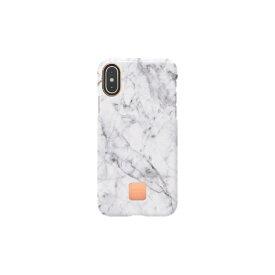HAPPYPLUGS ハッピープラグス [iPhone X/XS専用]スリムケース IPHONE X.XS CASE WHITE MARBLE9324 ホワイトマーブル