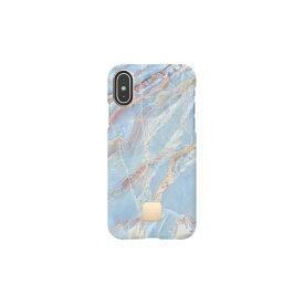 HAPPYPLUGS ハッピープラグス [iPhone X/XS専用]スリムケース IPHONE X.XS CASE BLUE QUARTZ9333 ブルークォーツ