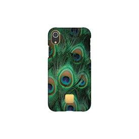 HAPPYPLUGS ハッピープラグス [iPhone XR専用]スリムケース IPHONE XR CASE PEACOCK9352 ピーコック