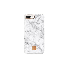 HAPPYPLUGS ハッピープラグス [iPhone 8/7plus専用]スリムケース IPHONE7.8 PLUS CASE WHITE MARBLE9150 ホワイトマーブル