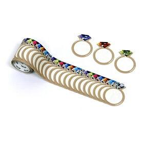 バンデ bande マスキングロールステッカー 書けるロールステッカー 指輪 BDA445