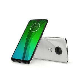 モトローラ Motorola Moto g7 クリアホワイト「PADY0001JP」Snapdragon 632 6.24型ワイド メモリ/ストレージ:4GB/64GB nano SIM x2 DSDS対応 ドコモ/au/ソフトバンク対応 SIMフリースマートフォン PADY0001JP クリアホワイト[PADY0001JP]