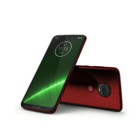 モトローラ Motorola Moto g7 Plus ビバレッド「PADU0002JP」Snapdragon 636 6.24型ワイド メモリ/ストレージ:4GB/64GB nano SIM x2 DSDS対応 ドコモ/au/ソフトバンク対応 SIMフリースマートフォン PADU0002JP ビバレッド[simフリー スマホ 本体]