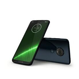 モトローラ Motorola Moto g7 Plus ディープインディゴ「PADU0003JP」Snapdragon 636 6.24型ワイド メモリ/ストレージ:4GB/64GB nano SIM x2 DSDS対応 ドコモ/au/ソフトバンク対応 SIMフリースマートフォン PADU0003JP ディープインディゴ[simフリー スマホ 本体]