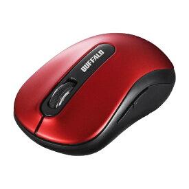 BUFFALO バッファロー BSMBW318RD マウス レッド [BlueLED /5ボタン /USB /無線(ワイヤレス)][BSMBW318RD]