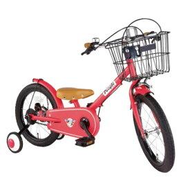 ピープル People 16型 子供用自転車 共伸びサイクル(クランベリー) YGA322【2019年モデル】【組立商品につき返品不可】 【代金引換配送不可】