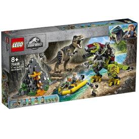 レゴジャパン LEGO 75938 ジュラシック・ワールド T - レックス vs ダイノメカの戦い