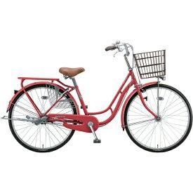 ブリヂストン BRIDGESTONE 26型 自転車 プロムナードC(F.X ピュアレッド/3段変速)PR63CT 【代金引換配送不可】