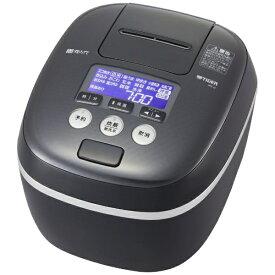 タイガー TIGER JPC-G100-KM 炊飯器 炊きたて モスブラック [5.5合 /圧力IH][JPCG100]