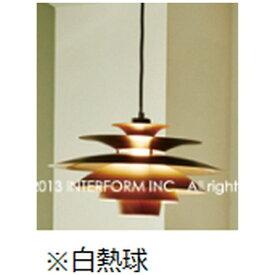 インターフォルム INTERFORM ペンダントライト Norden[シーリング /1灯] LT-8822BN ブラウン(木調塗装)[LT8822BN]