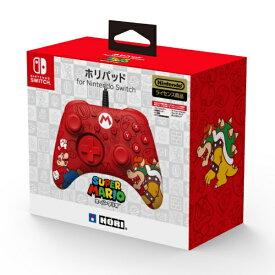 HORI ホリ ホリパッド for Nintendo Switch スーパーマリオ NSW-188【Switch】