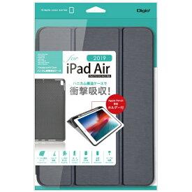 ナカバヤシ Nakabayashi 【ケース】iPadAir2019用ハニカム衝撃吸収ケース ネイビー