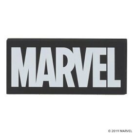 HAMEE ハミィ 276-905210 モバイルバッテリー MARVEL/マーベル ロゴ/ブラック [6000mAh]