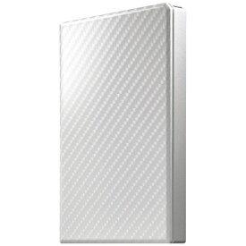 I-O DATA アイ・オー・データ HDPT-UTS500W 外付けHDD 高速カクうす セラミックホワイト [ポータブル型 /500GB][HDPTUTS500W]