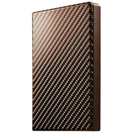 I-O DATA アイ・オー・データ HDPT-UTS500BR 外付けHDD 高速カクうす ブリックブラウン [ポータブル型 /500GB][HDPTUTS500BR]