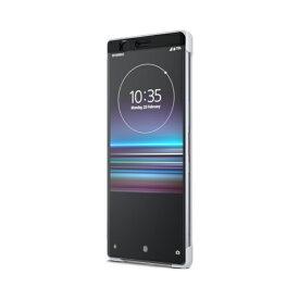 ラスタバナナ Xperia 1 Style Cover Touch SCTI30JP/W ホワイト