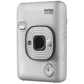 富士フイルム FUJIFILM ハイブリッドインスタントカメラ 『チェキ』 instax mini LiPlay ストーンホワイト[チェキ 本体 カメラ instax mini liplay]