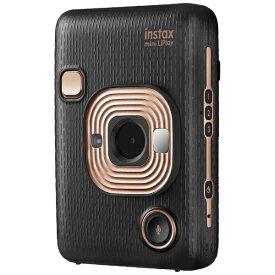 富士フイルム FUJIFILM ハイブリッドインスタントカメラ 『チェキ』 instax mini LiPlay エレガントブラック[チェキ 本体 カメラ instax mini liplay]