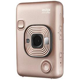 富士フイルム FUJIFILM ハイブリッドインスタントカメラ 『チェキ』 instax mini LiPlay ブラッシュゴールド[チェキ 本体 カメラ instax mini liplay]