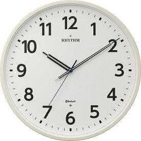 リズム時計 RHYTHM 掛け時計 【シェアウェーブM41】 8MYA41SR03 [電波自動受信機能有]
