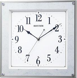 リズム時計 RHYTHM 掛け時計 【フィットウェーブミレディM550】 8MY550SR04 [電波自動受信機能有]