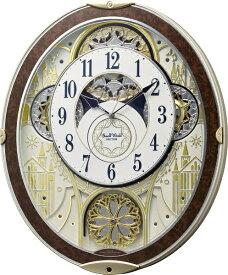 リズム時計 RHYTHM からくり時計 【スモールワールドノエルNS】 8MN407RH23 [電波自動受信機能有]
