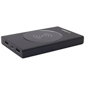 CELLEVO セレボ CWL12000B-BK モバイルバッテリー Stick C & QI 12000 ブラック [12000mAh /4ポート /充電タイプ]