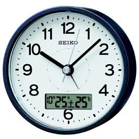 セイコー SEIKO 目覚まし時計 【スタンダード】 グレーメタリック KR333N [アナログ /電波自動受信機能有]