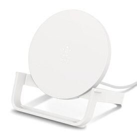 BELKIN ベルキン ワイヤレス充電スタンド(10W) PSE ホワイト F7U083JCWHT[F7U083JCWHT]