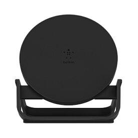 BELKIN ベルキン ワイヤレス充電スタンド(10W) ブラック (PSE) F7U083JCBLK[F7U083JCBLK]